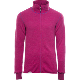 Woolpower 400 Full Zip Jacket Colour Collection cerise/purple